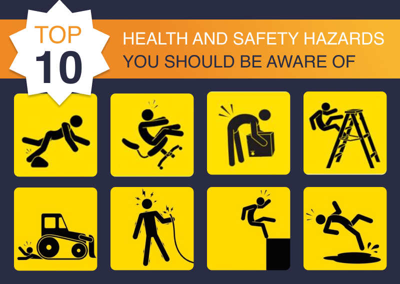 Top 10 health and safety hazards you should be aware of