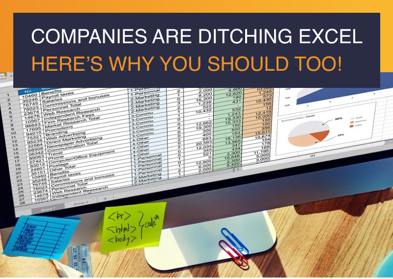 Companies are Ditching Excel